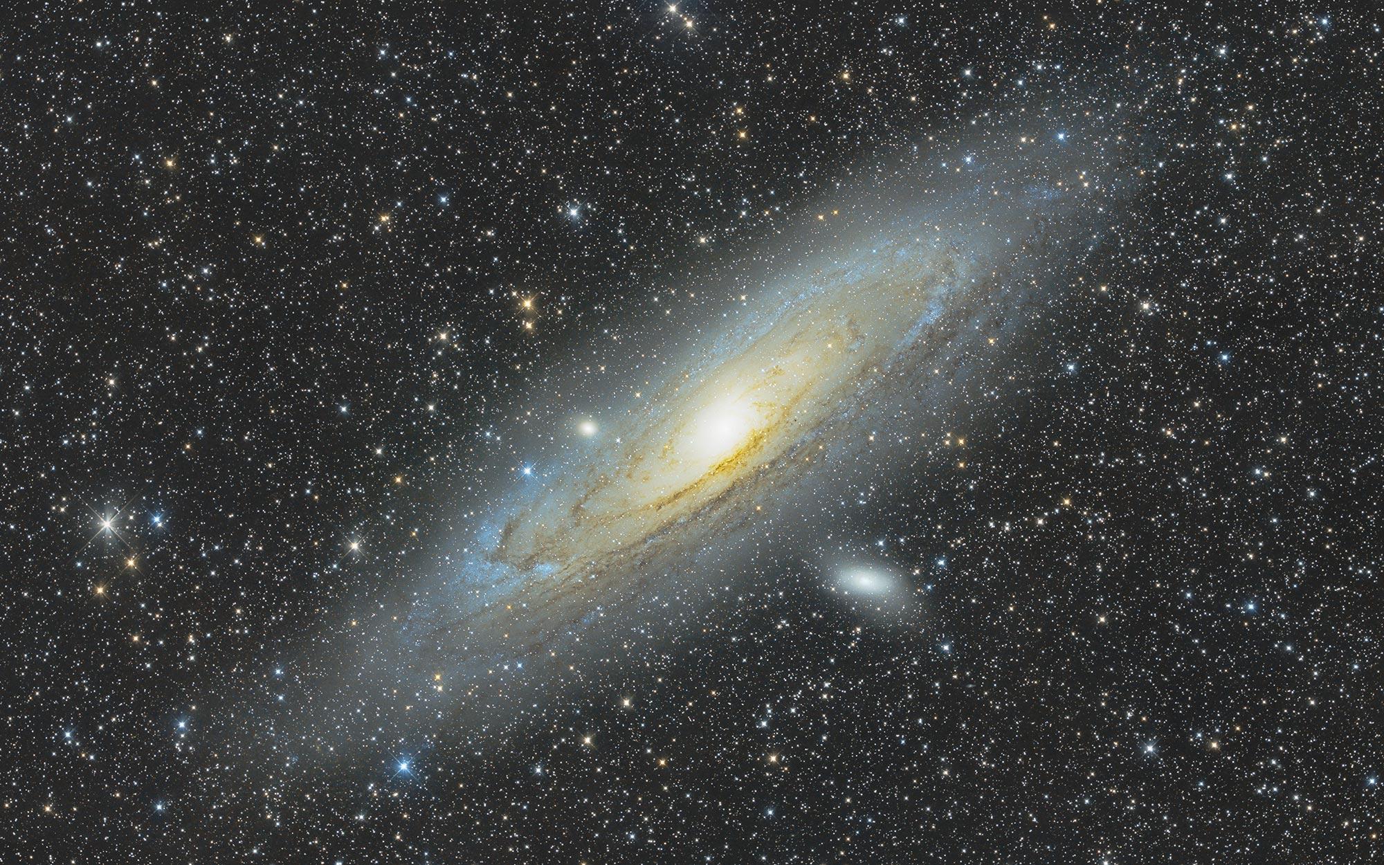 Andromedagalaxie - Messier 31 von Claus Müller