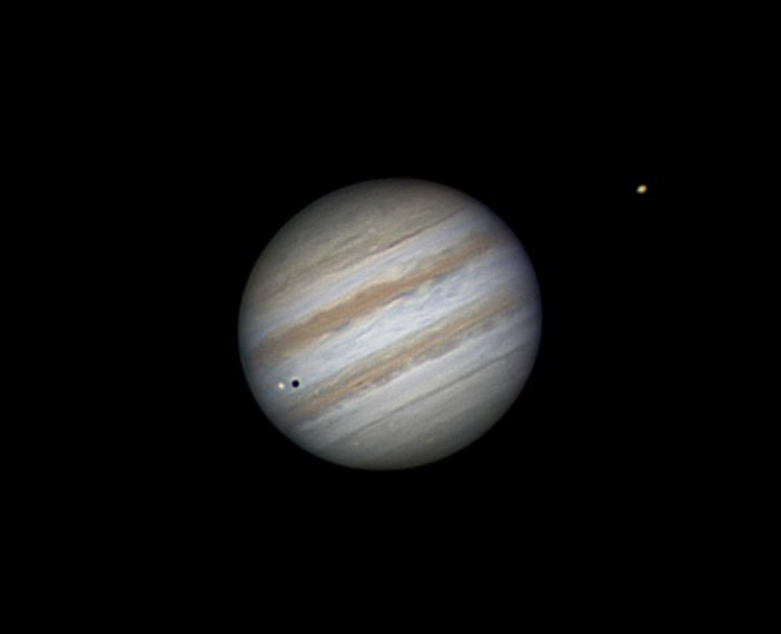 Jupiter und seine Monde von Stefan Westphal