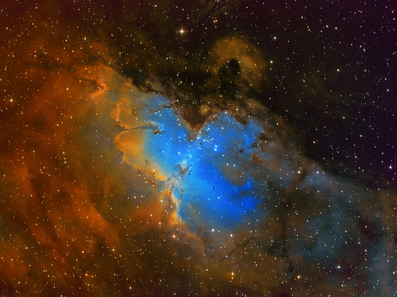 Messier16-Eagle Nebula, von Paul Schuberth
