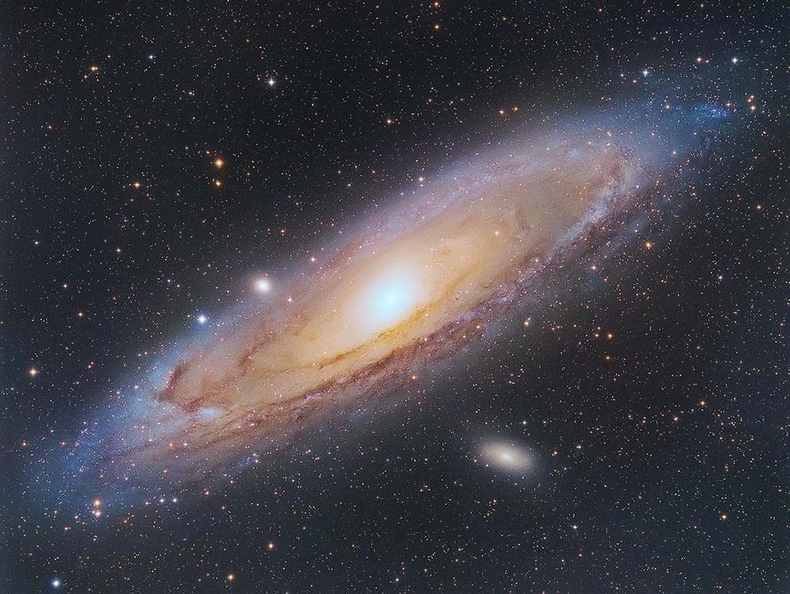 Messier 31 von Paul Schuberth