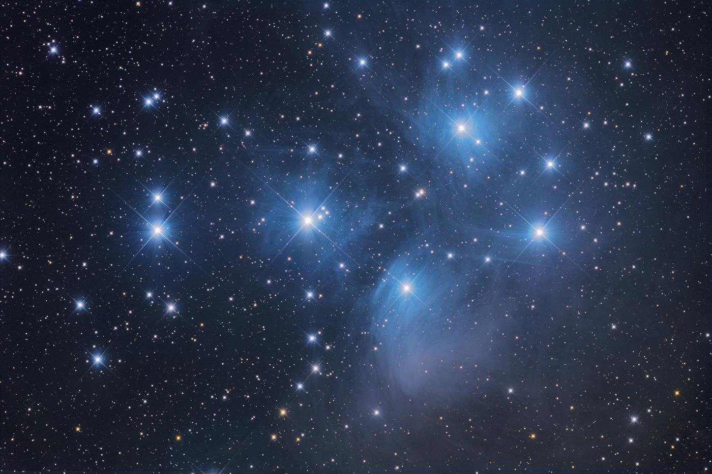 Messier 45 von Thomas Jäger