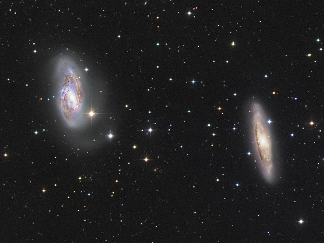 M65 und M66 Galaxienpaar