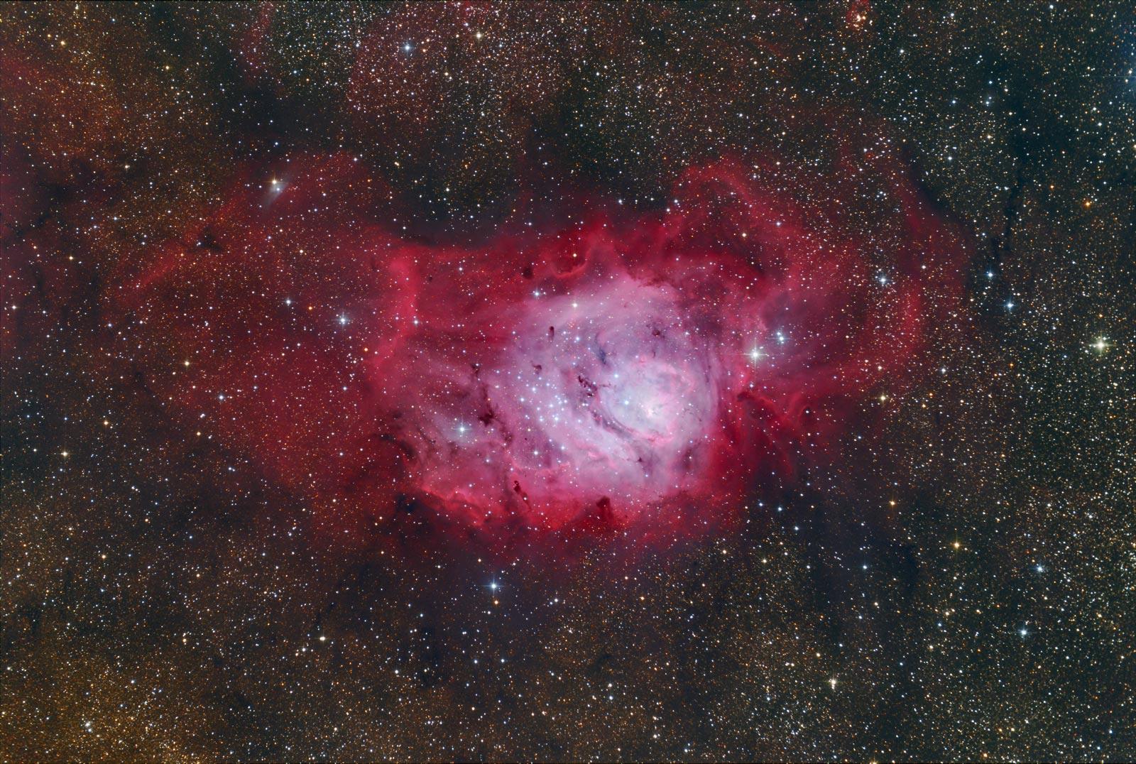 Messier 8 von Thomas Jäger