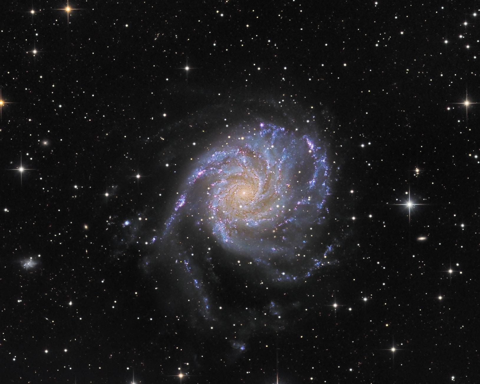 Fotografie der Galaxie Messier 101