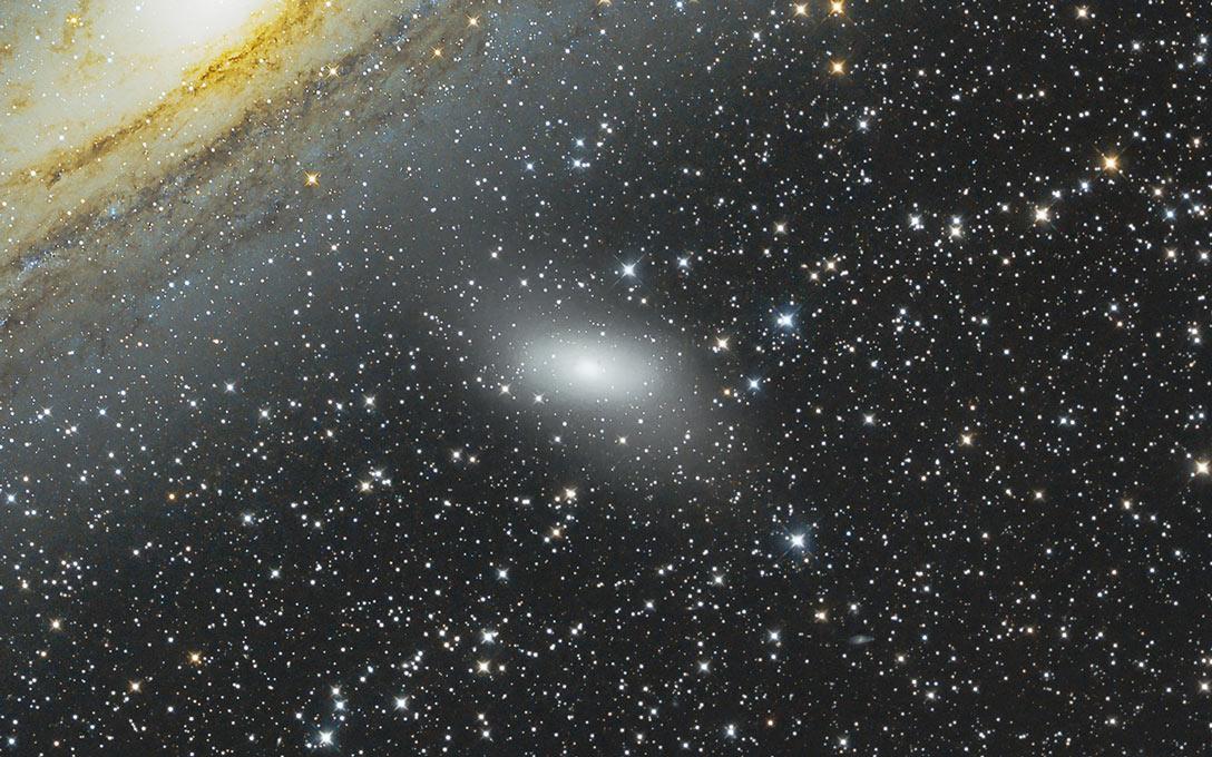 Fotografie von Messier 110 Galaxie