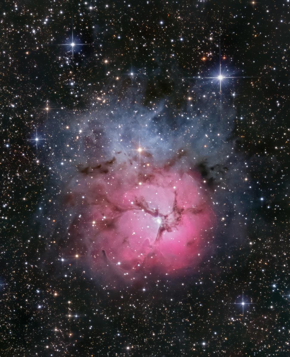 Messier 20 - Trifidnebel von Claus Müller