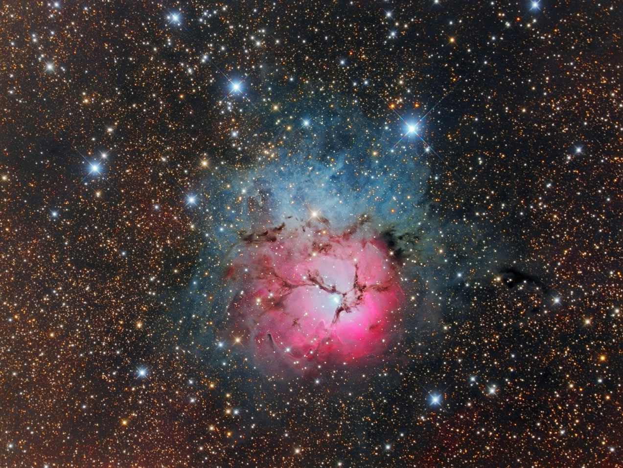 Messier 20 - Trifidnebel von Stefan Westphal