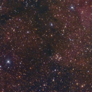 Messier 29 - Offener Sternhaufen, Fotografie von Claus Müller