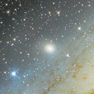 Fotografie von Messier 32 Le Gentil Galaxie