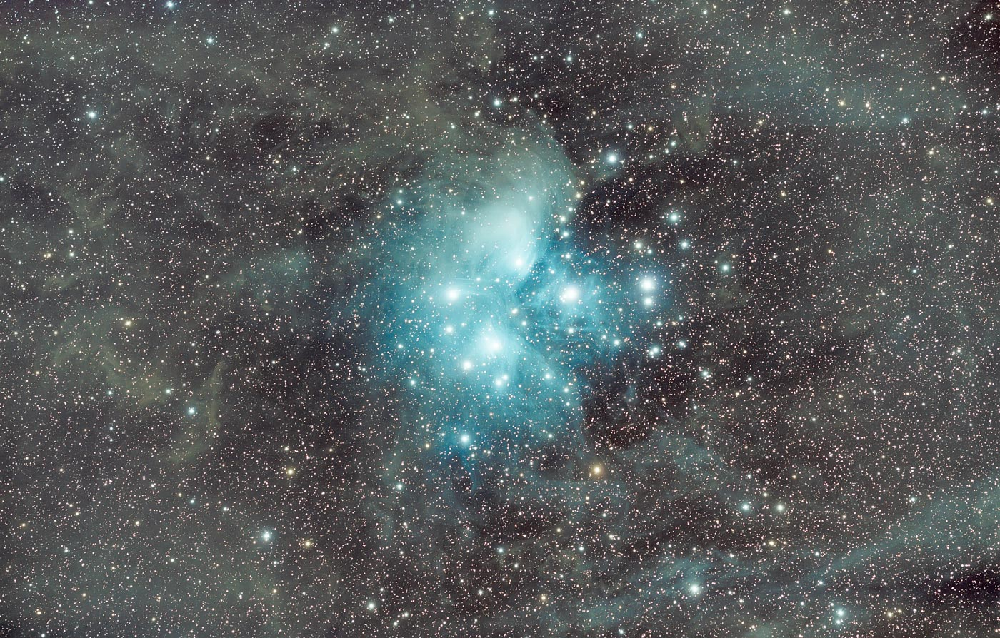 Messier 45 von Karl Heinz Kathemann