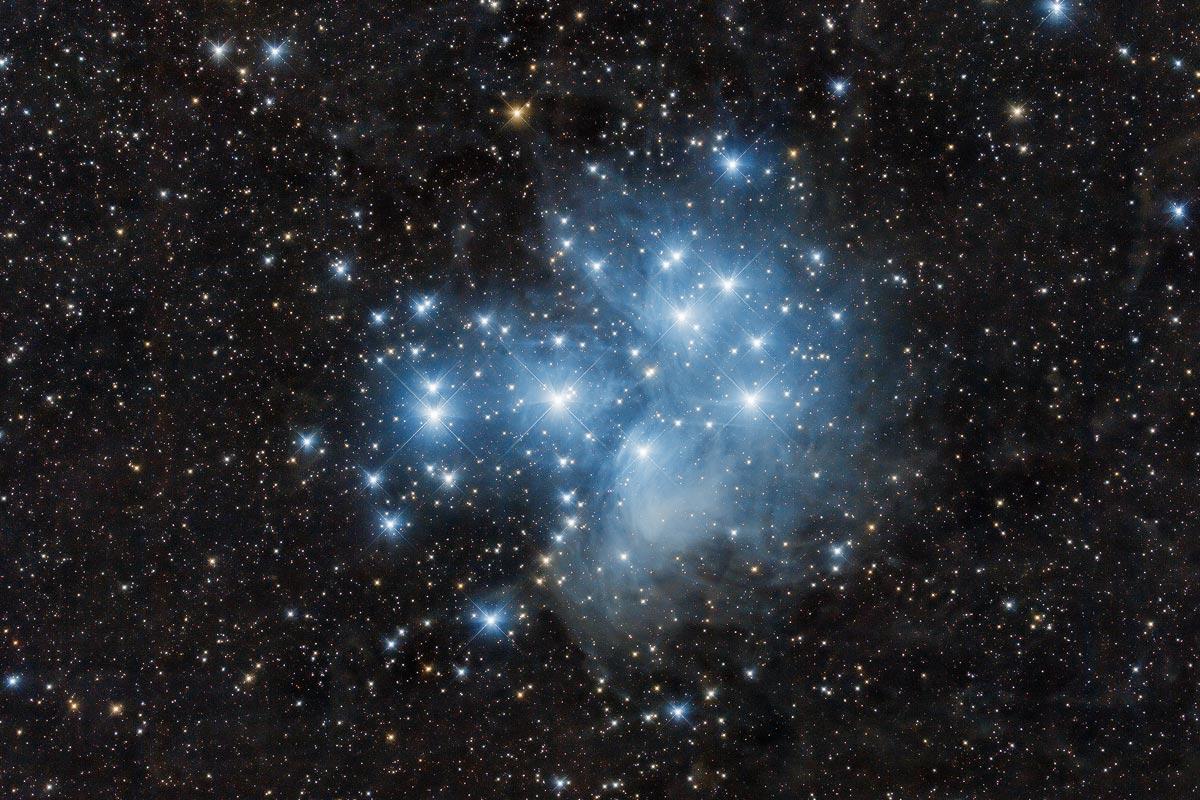 Messier 45 von Claus Müller