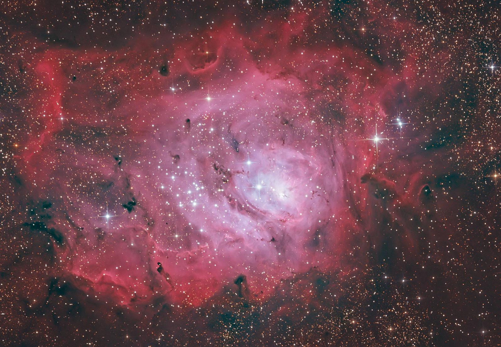Messier 8 von Claus Müller