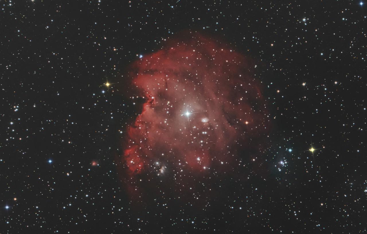 NGC 2174 und NGC 2175