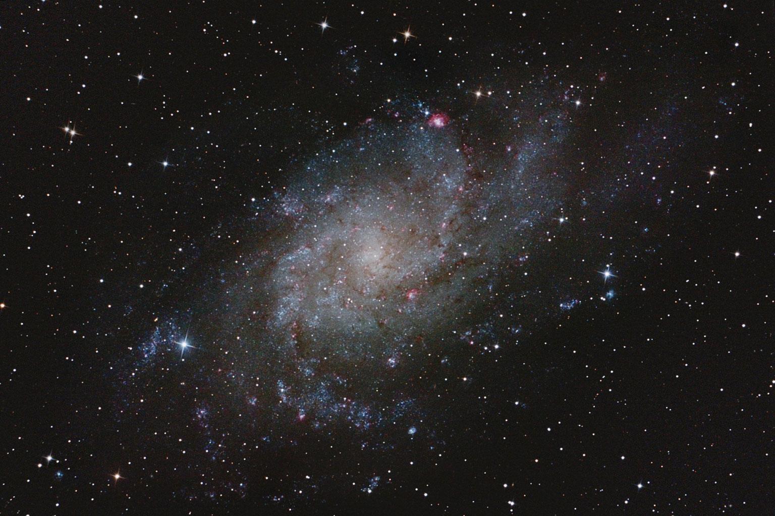 Messier 33 – Dreiecksnebel von Stefan Westphal