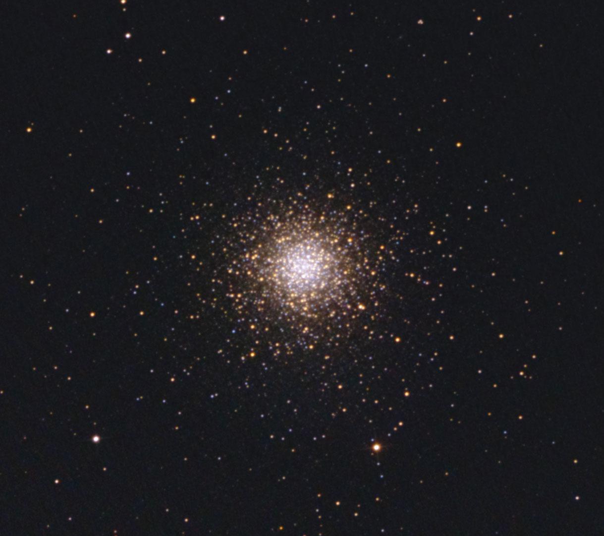Messier 3 Detailaufnahme von Stefan Westphal