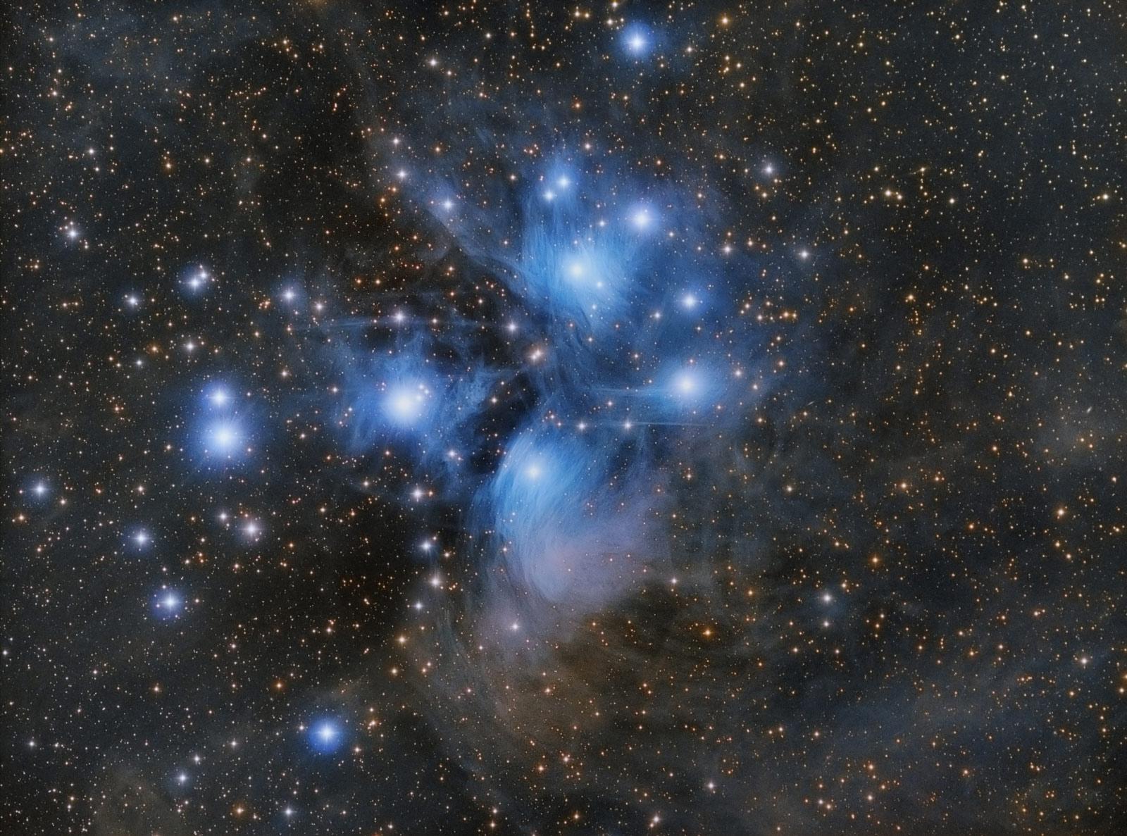Messier 45 von Paul Schubert