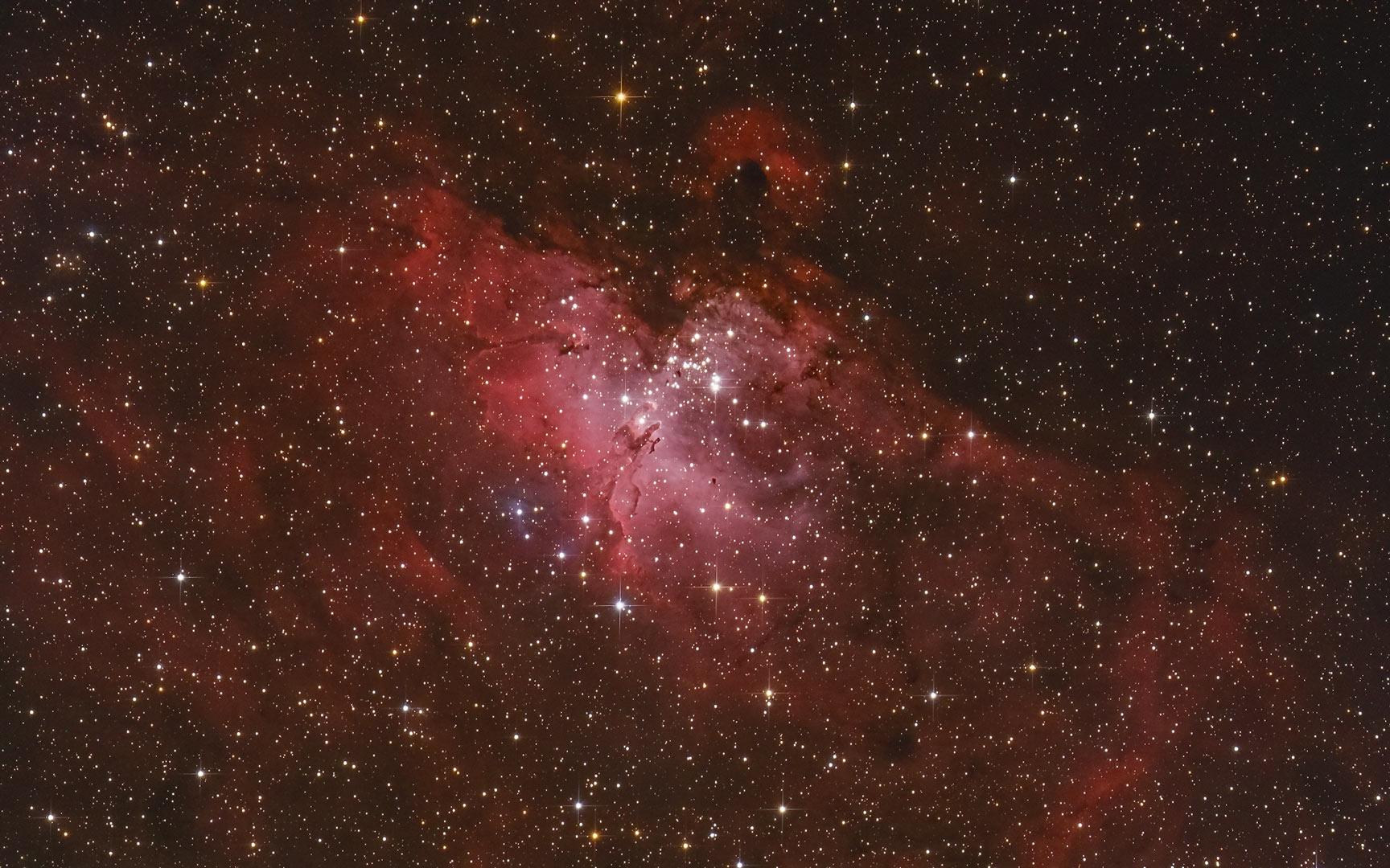 Messier 16 Adlernebel von Claus Müller