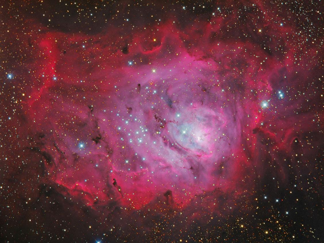 Messier 8 Lagunennebel von Stefan Westphal