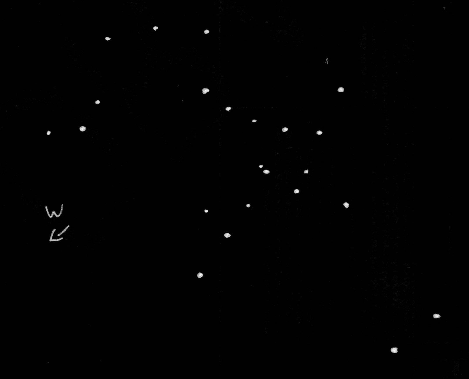 Zeichnung Messier M7