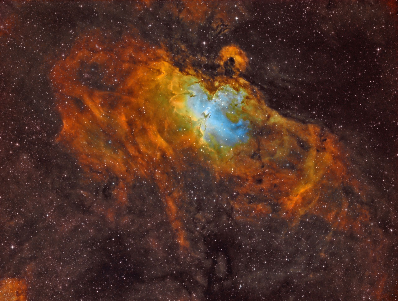 Messier 16 Narrowband von Thomas Jäger