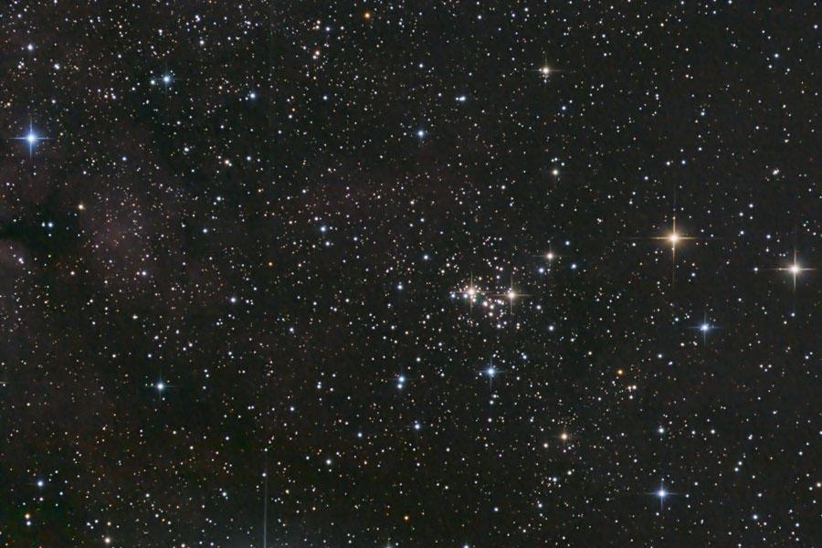 NGC 6910 rocking horse cluster