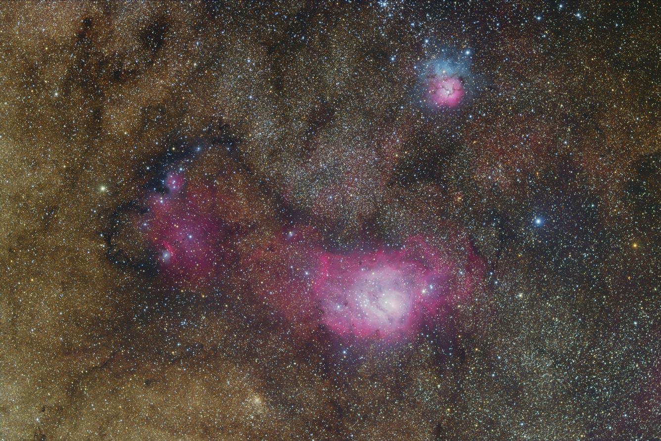 NGC6559 Widefield von Thomas Jäger