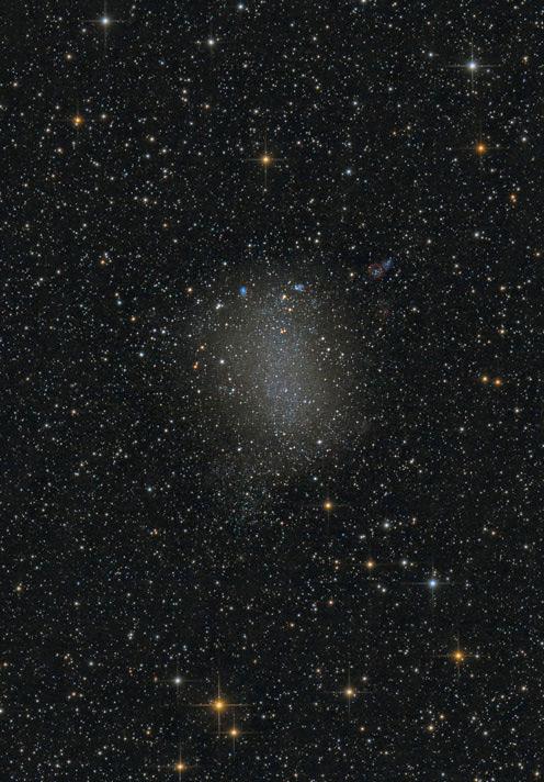 NGC 6822 Barnards Galaxy von Stefan Westphal