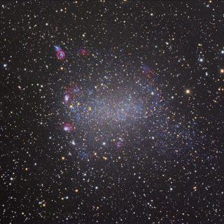 NGC6822 Barnards Galaxie