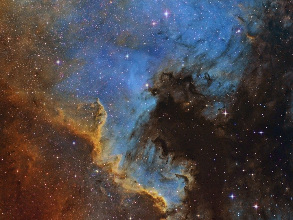 NGC 7000 narrowband