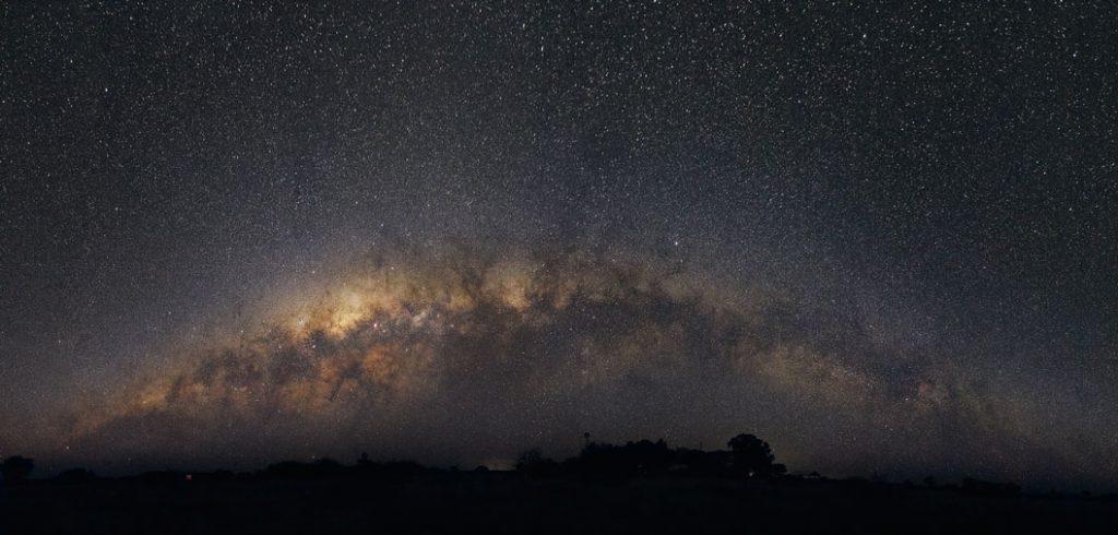 Milchstraßen Panorama vom Südhimmel