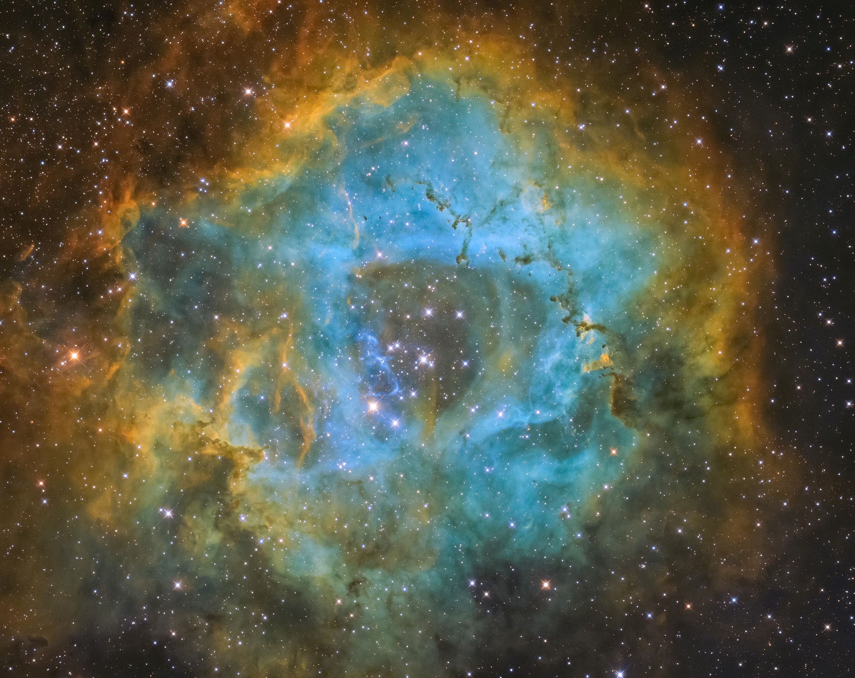 rosette nebula Rosettennebel NGC 2237